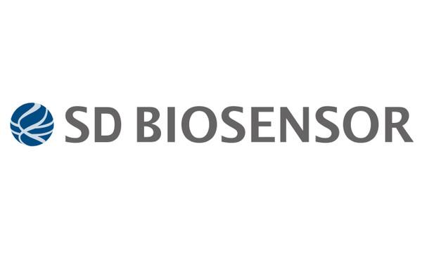 [특징주]에스디바이오센서 상장 첫 날 13% 급등(사진=SD바이오센서 CI)