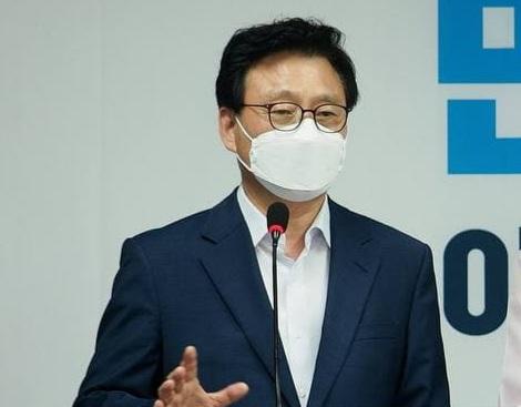 박광온 이낙연 필연캠프 총괄본부장.