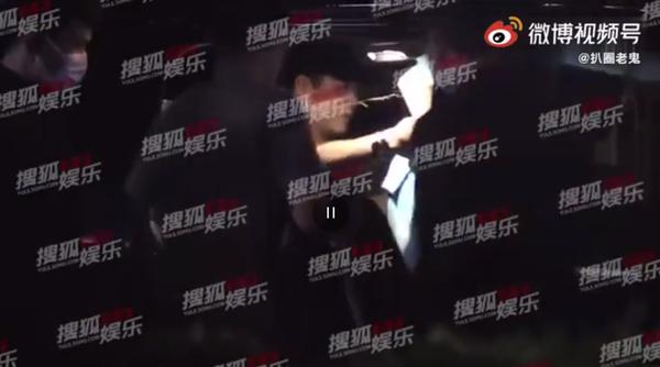 우효광 (사진-중국 SNS 웨이보 영상 캡쳐)