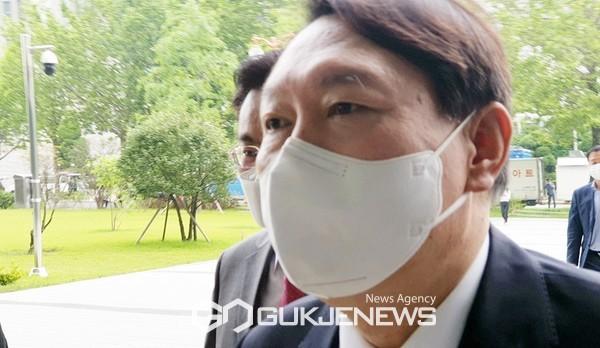 윤석열 대선 예비후보.
