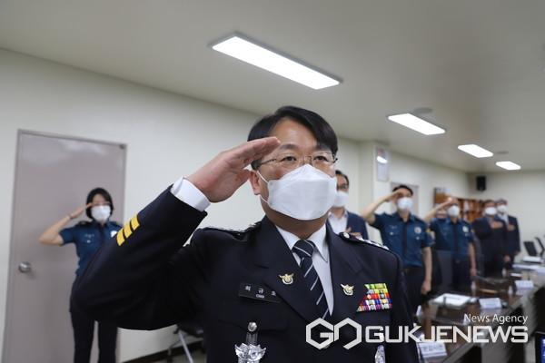 제65대 경기도 이천경찰서 최규호 서장 (사진=이천경찰서 경무과)