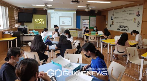 영광여자중학교, 2021년 경북예비미래학교 창의·융합 캠프 운영