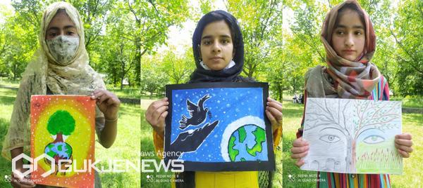 제3회 '평화사랑 그림그리기 국제대회' 모습