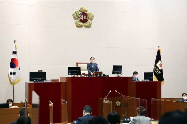 성남시의회, 제265회 임시회 폐회