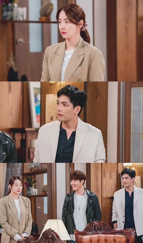 '빨강구두' 소이현, 박윤재·신정윤과 삼자대면(사진=KBS2)