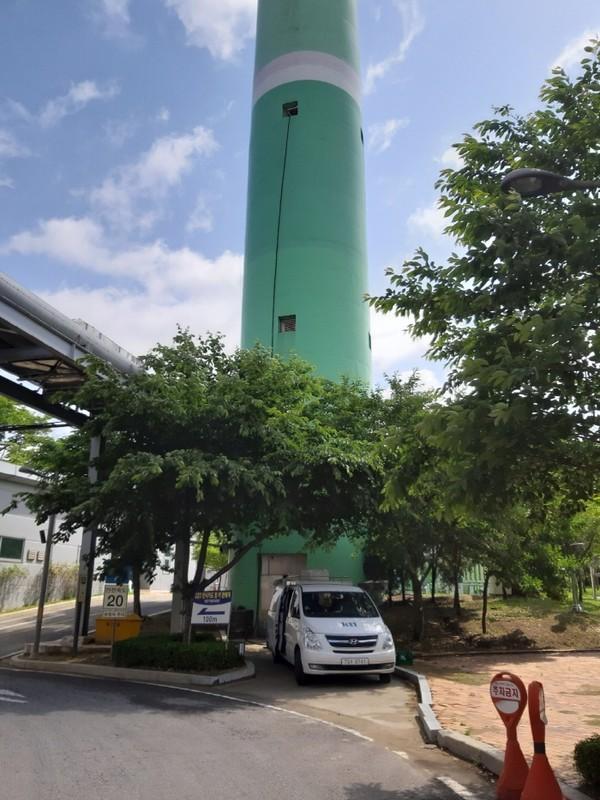 김포자원센터측정사진
