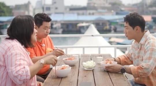 박군, 하재숙 위해 고성 꽃새우 짬뽕 대접 '대박'(사진=KBS2)