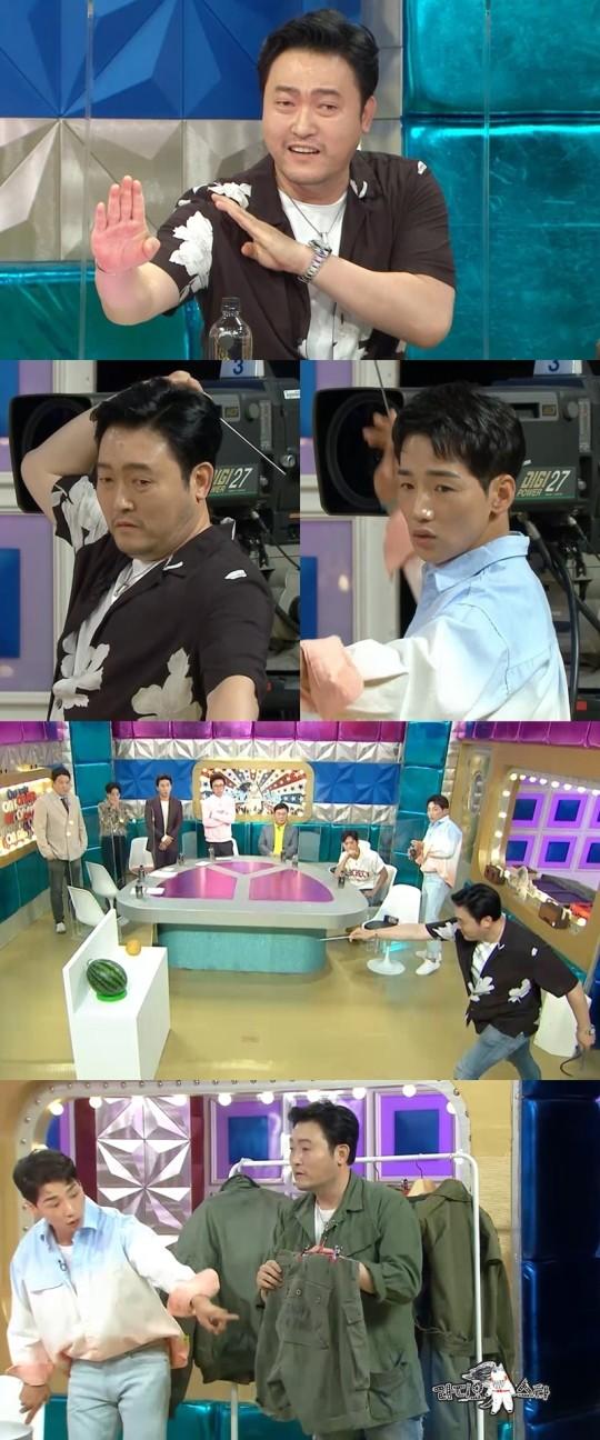 '특공대' 이준혁VS'특전사' 박군 맞대결(사진=MBC)
