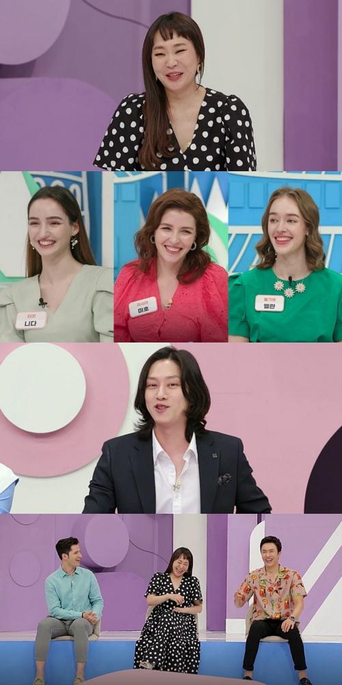 김희철, 김원희 성현 모습에 'FLEX' 자처(사진=MBN)