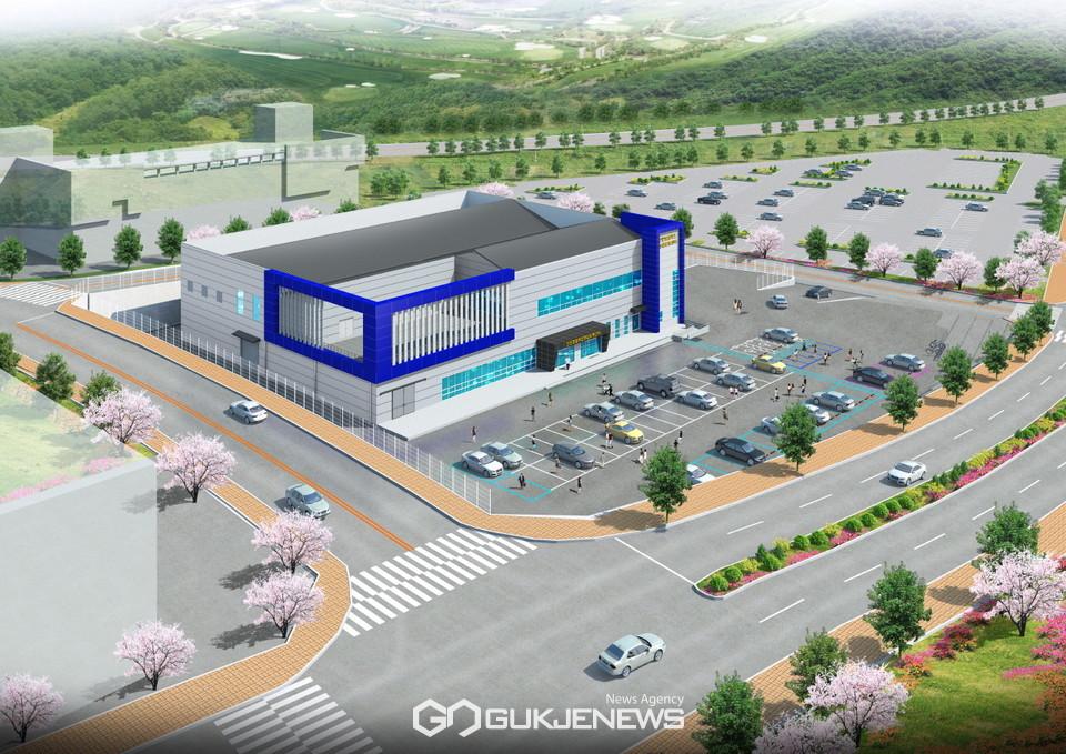 올 8월 준공예정인 천안시 종합유통(지원)센터 조감도