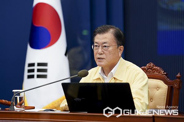 전남 특별재난지역 선포 재가, 적용 지역 어디?(사진=청와대)