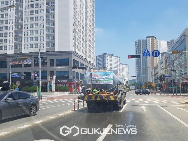 김천시, 폭염 피해 최소화에 총력 대응(사진=김천시)