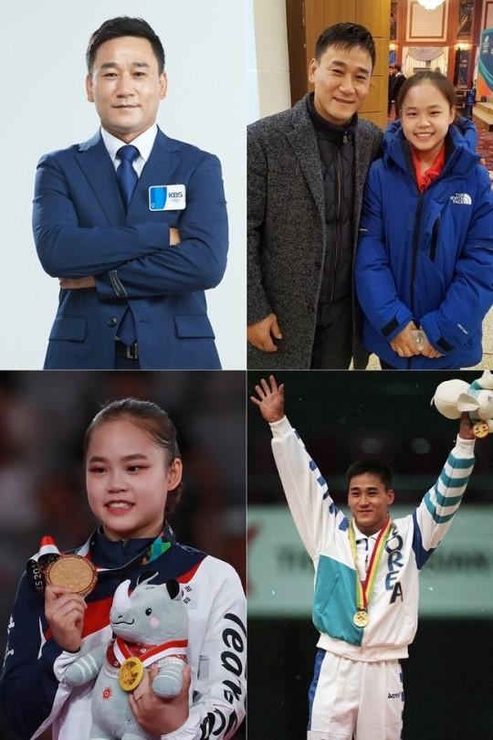 여서정 도마 동메달에 아버지 여홍철·어머니 김채은 선수 주목(사진=KBS)