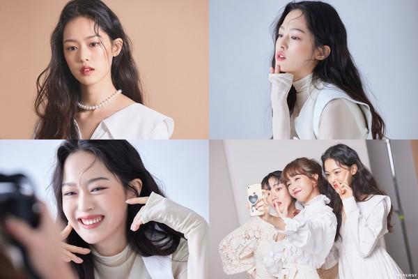 [화보] 한성민, 청순美→유니크한 스타일링까지 완벽 소화