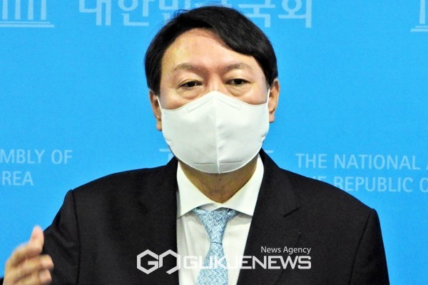 윤석열 국민의힘 대선 예비후보.