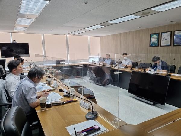 (사진제공=안전보건공단) 안전보건공단 서울광역본부에서 3차 KOSHA 옴부즈만 회의 개최