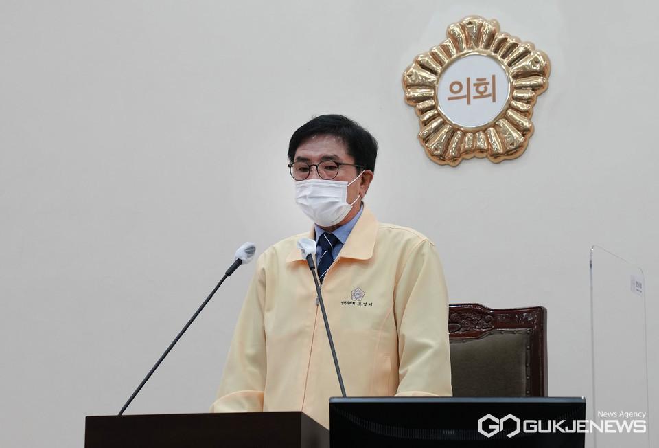 조영제 영천시의회 의장, 신속한 추경집행으로지역경제 활성화에 도움되길