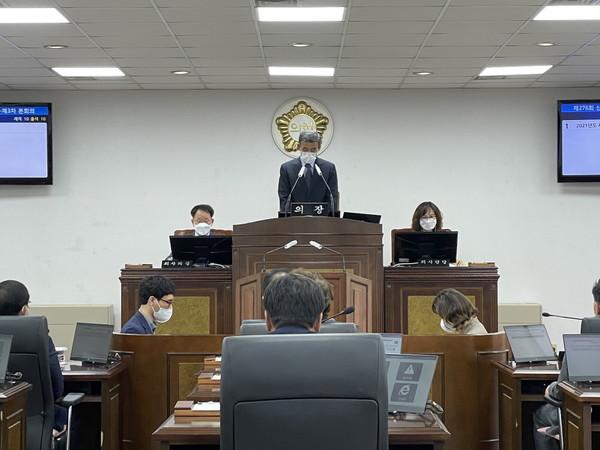산청군의회 자료사진
