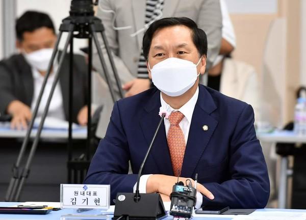 김기현 국민의힘 원내대표.