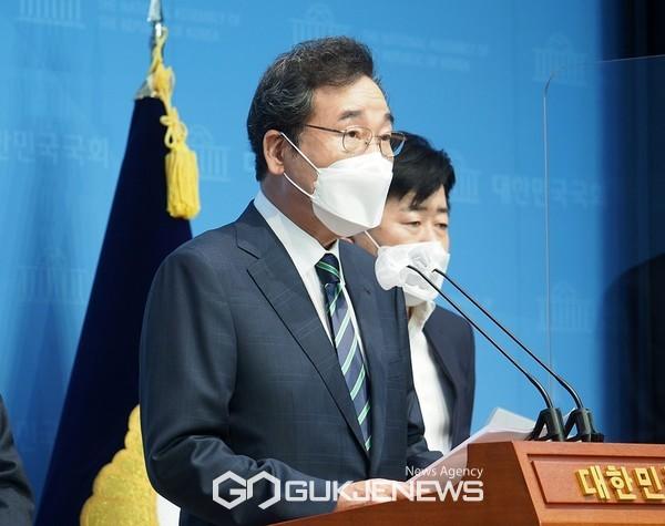 이낙연 더불어민주당 대선 예비후보.