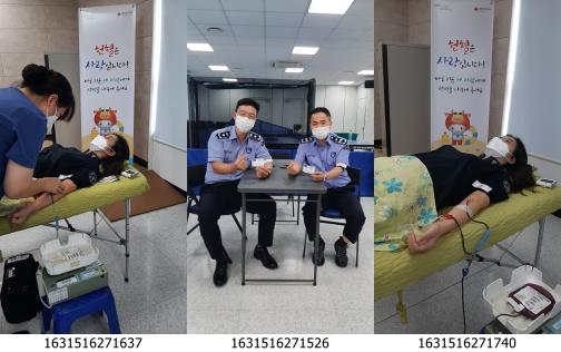 '생명나눔 헌혈 캠페인' 모습/제공=부산혈액원