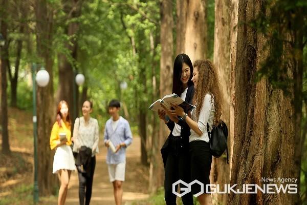 충북대 학생들 모습.(제공=충북대학교)