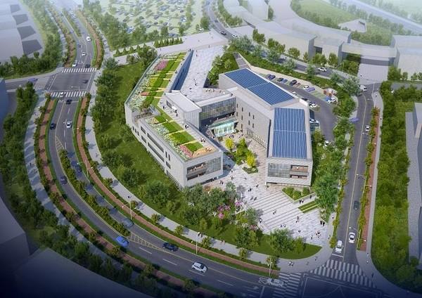 국내 최대 규모 종합검진 기관 KMI 한국의학연구소 조감도