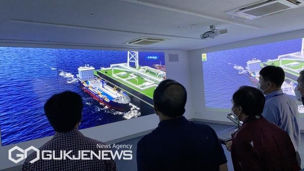 'LNG 벙커링 종사자 교육' 모습/제공=한국해양수산연수원