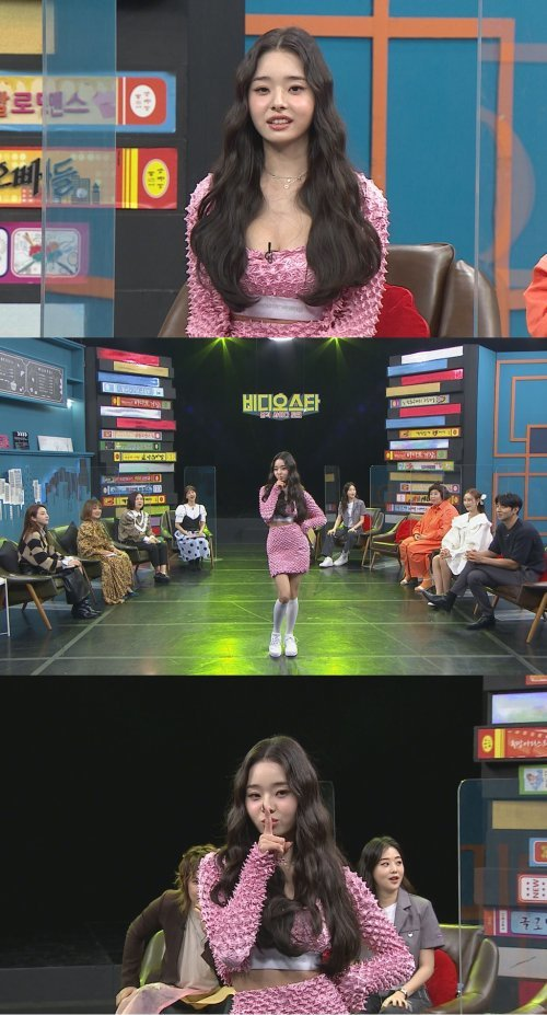프리지아 나이, 리틀 한채영의 물오른 미모(사진=MBC에브리원)