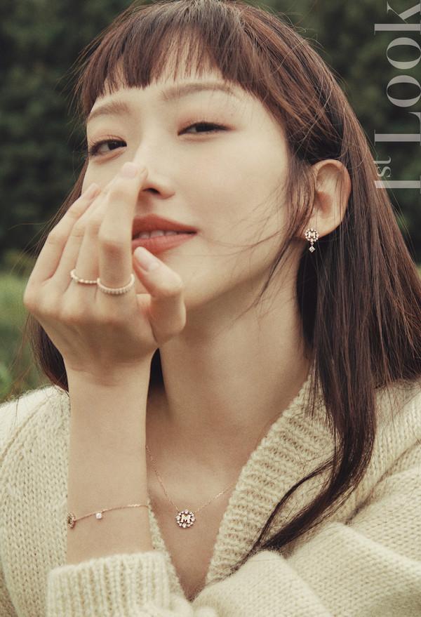 펜트하우스 주석경 배우 한지현, 가을 화보 장식