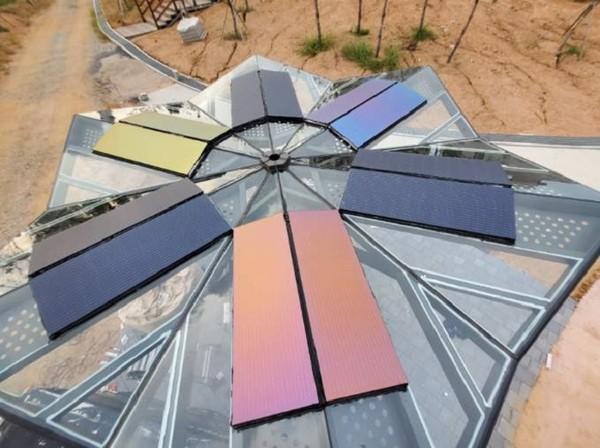 (사진제공=(주)옥토끼이미징) 옥토끼이미징의 BIPV컬러태양광모듈