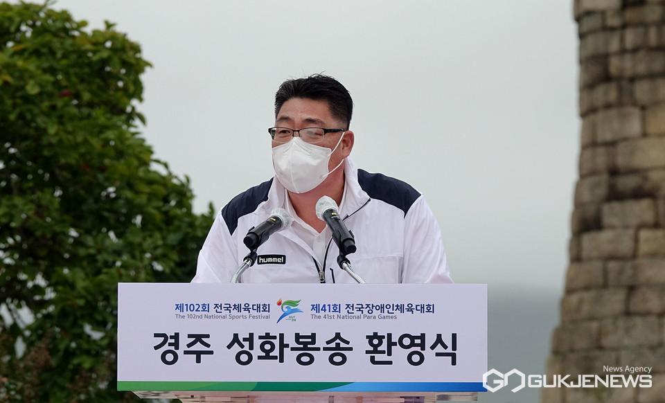 (사진=김진태 기자) 여준기 경주시체육회장