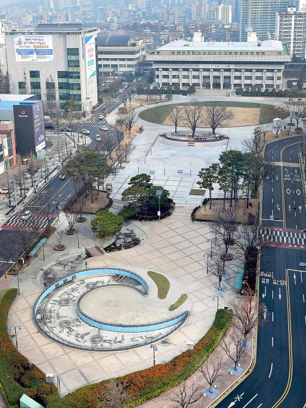 인천광역시청전경