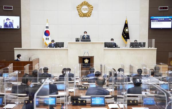 용인시의회, 제258회 임시회 개회