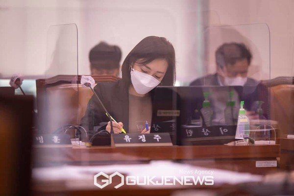 국회 문화체육관광위원회 더불어민주당 유정주 의원