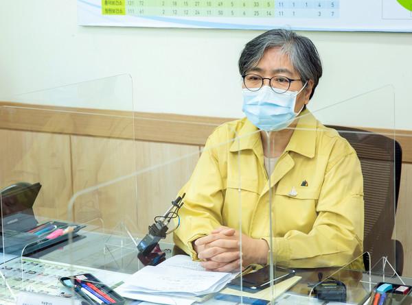 정은경 질병관리청장 (질병관리청 제공)