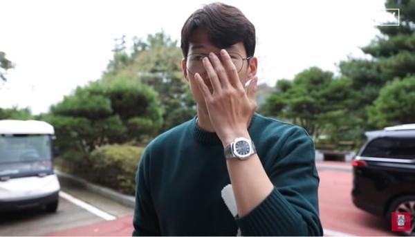 열애설 난 손흥민 명품 시계 가격 눈길 '2억원대'(사진=대한축구협회 유튜브)