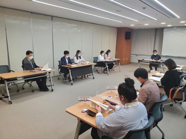 포항시는지난8일2021북한이탈주민지원위한지역협의회실무자회의를개최했다.(사진=포항시)