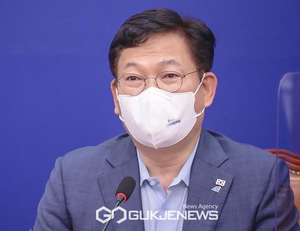송영길 더불어민주당 대표.