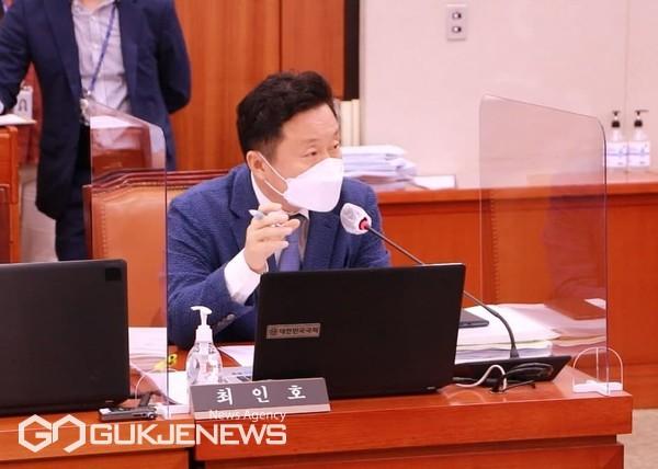 국회 농림축산식품해양수산위원회 소속 더불어민주당 최인호 의원