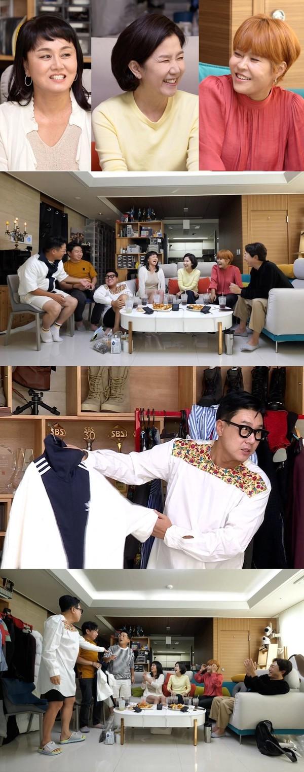 '돌싱포맨' 이성미·이경실·조혜련 나이, 재혼 여행지 어디?(사진=SBS)