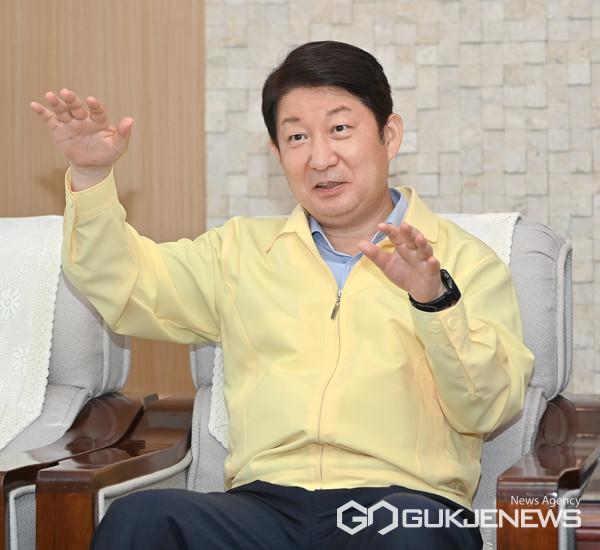 권영진대구시장(사진/국제뉴스 통신사 백운용 기자)