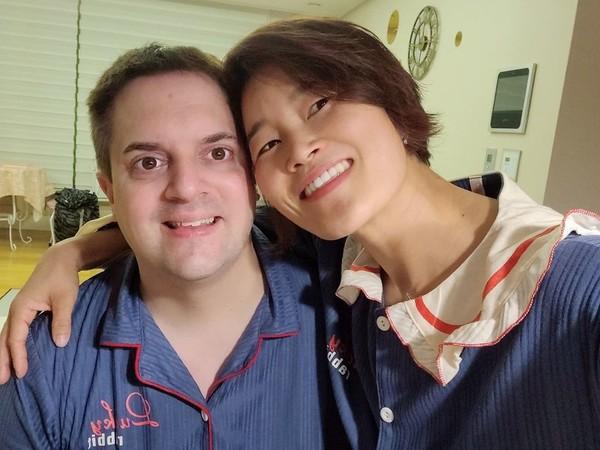 개그우먼 김혜선 남편·결혼, 달달한 모습 '눈길'(사진=김혜선 인스타)