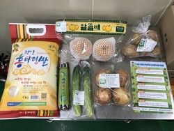 2021 천안시 학생가정 농산물꾸러미 구성품