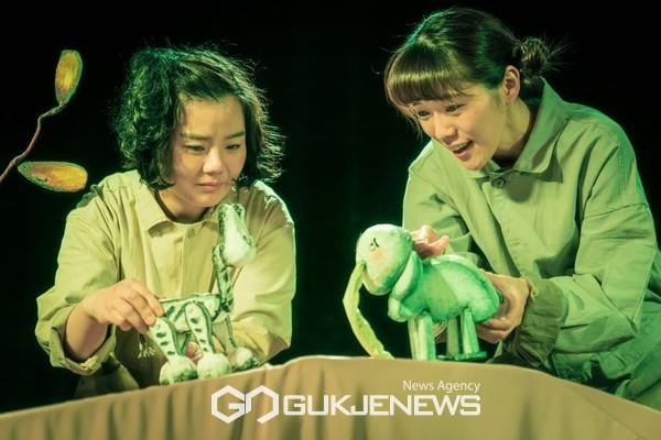 지난 5월 관악어린이놀이터에서 진행한 어린이극 '끼리'의 공연 모습