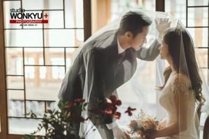 오종혁 웨딩화보, 예비아내와 행복한 모습